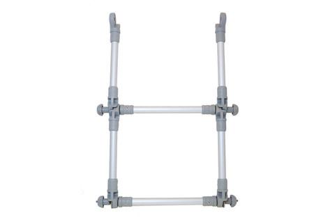 Удлинитель лестницы складной El022, Ø 22 мм, серая