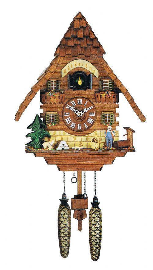 Часы настенные Часы настенные с кукушкой Trenkle 413 Q chasy-nastennye-s-kukushkoy-trenkle-413-q-germaniya.jpg