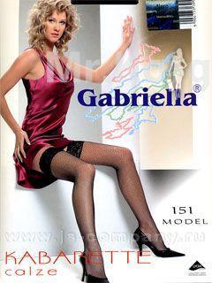 Чулки Gabriella Kabarette Calze 151