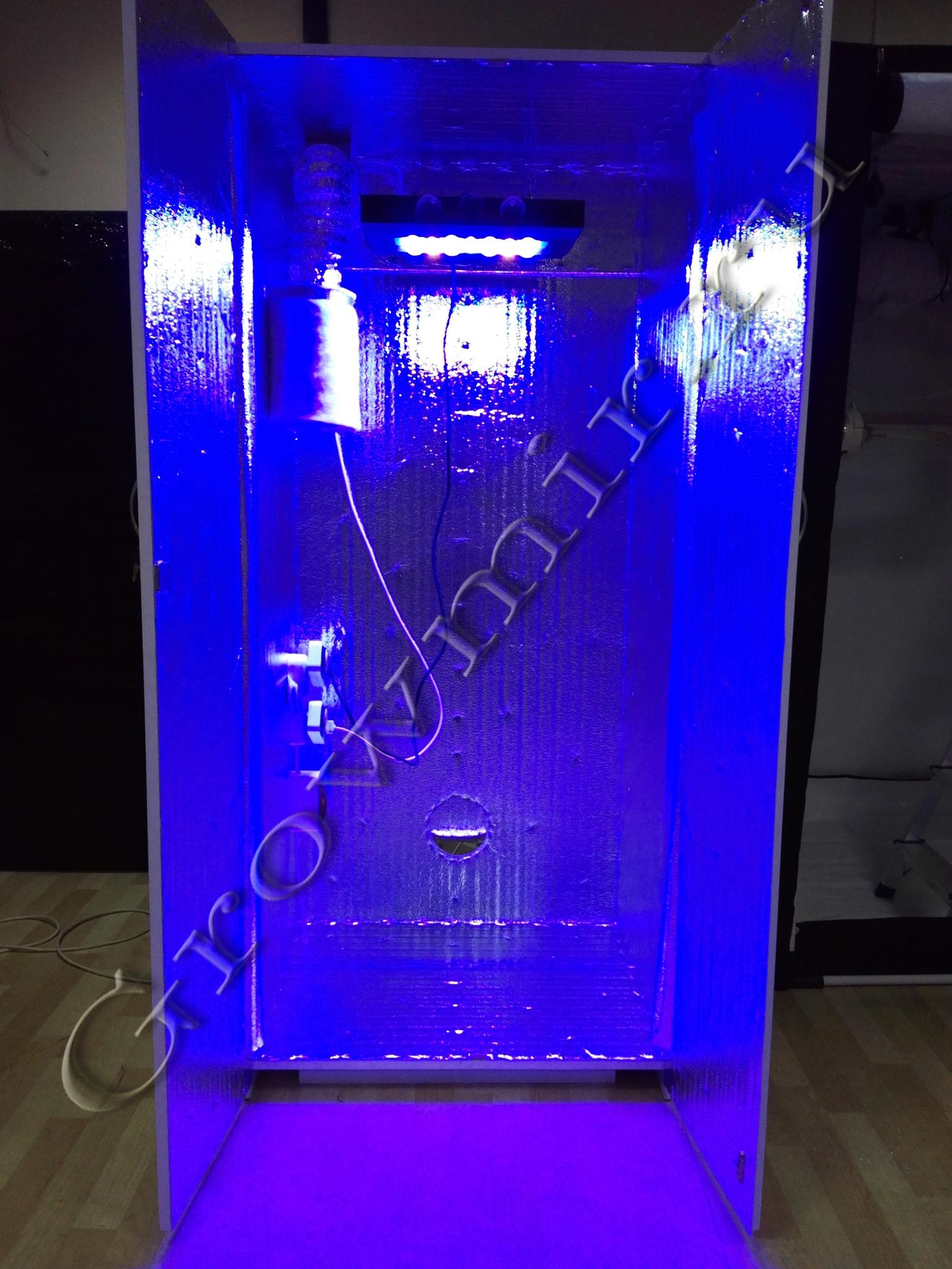 Гроубокс 180х80х60 для выращивания растений с LED светом