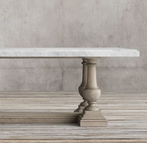 St. James Marble Rectangular Table
