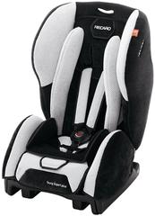 Детское кресло RECARO Young Expert plus (материал верха Topline Microfibre Black/Silver)