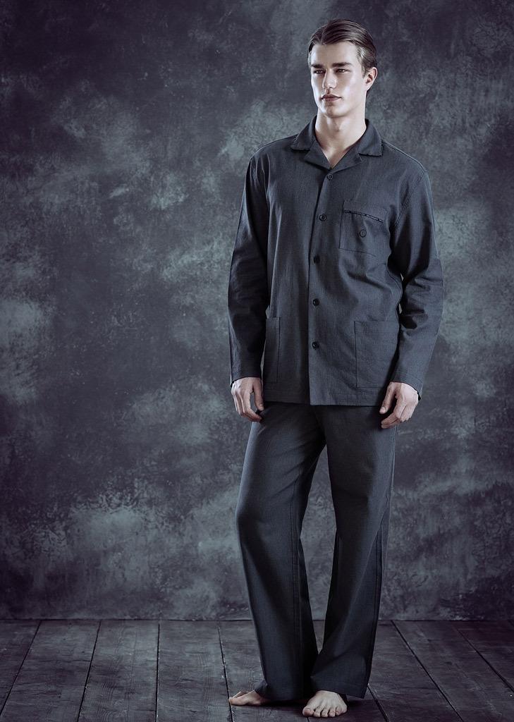 Мужская пижама класса люкс Trussardi (Домашние костюмы и пижамы)