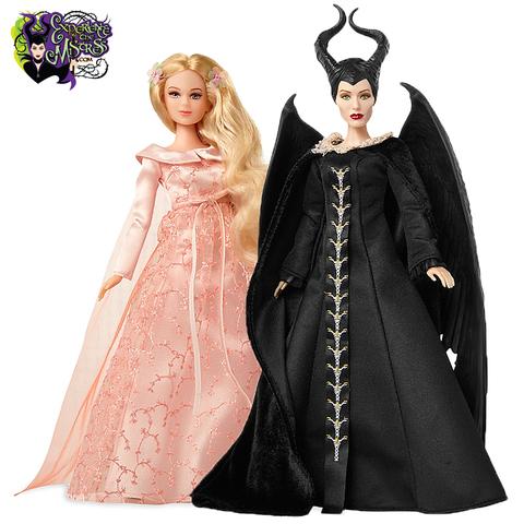 Набор кукол Малефисента (Maleficent) и Аврора - Малефисента: Владычица тьмы, Jakks Pacific