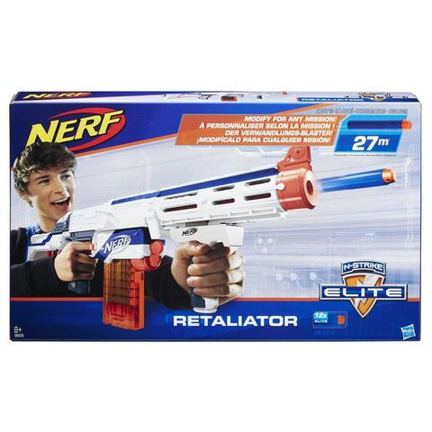 Hasbro: Бластер Nerf N-Strike Элит Риталиэйтор 98696H — Nerf N-Strike Elite Retaliator Blaster — Нерф Нёрф Хасбро