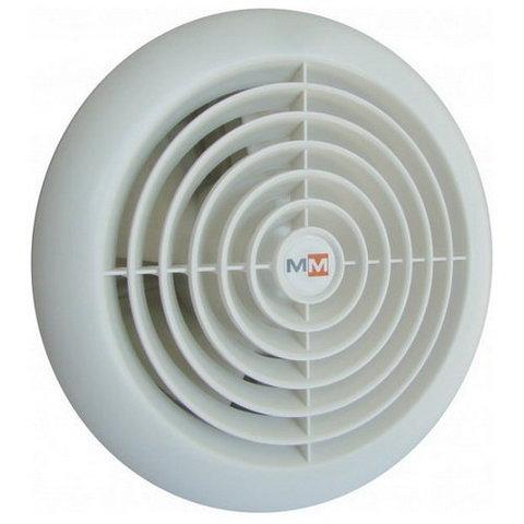 Вентилятор накладной  MMotors JSC MM-S 120 жаростойкий с обратным клапаном (для бань, саун, хамам)