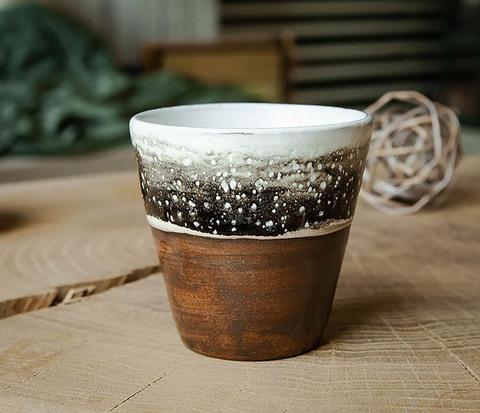 Красивый стакан ручной работы, серия «Млечный Путь»