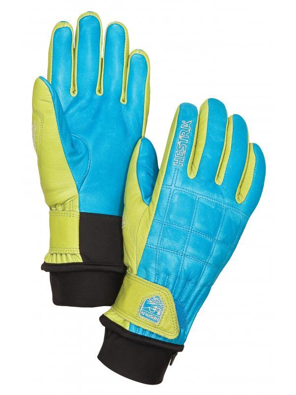 Henrik Leather Pro Model, blue-yellow