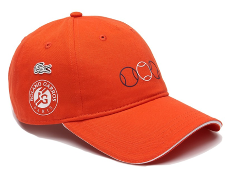 Кепка Lacoste SPORT French Open Edition - RK-4589-00-KDE