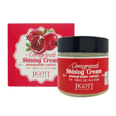 Jigott Pomegranate Shining Cream - Крем для сияния кожи с экстрактом граната