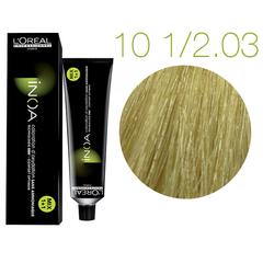 L'Oreal Professionnel INOA 10 1/2.03 (Очень светлый блондин золотистый) - Краска для волос