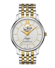 Наручные часы Tissot T063.907.22.038.00 Tradition Powermatic 80 Open Heart