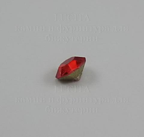 Стразы ювелирные (цвет - красный) 4,6 мм, 10 шт ()