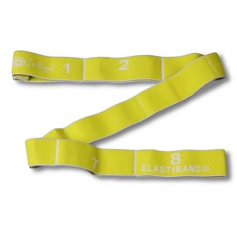 Эспандер Лента эластичная с захватами Indigo (желтая) LIGHT