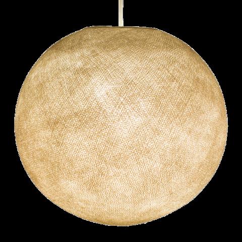Хлопковый шар - подвес Мокрый песок