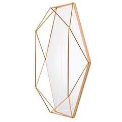 Зеркало настенное PRISMA медь Umbra