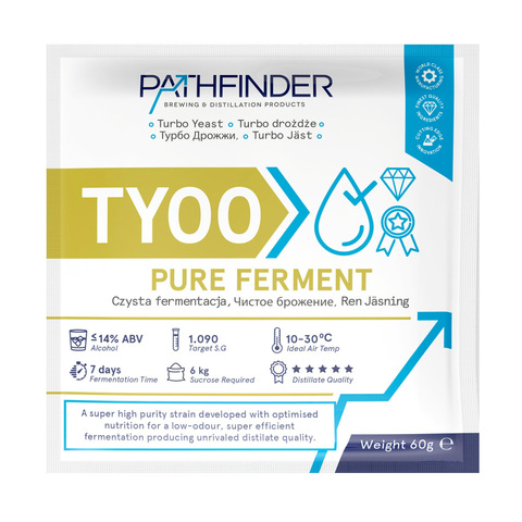 Спиртовые дрожжи Pathfinder Pure Ferment, 60 г