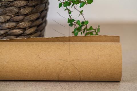 Моющаяся крафт-бумага цвет натуральный крафт, пять размеров