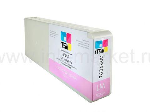 Совместимый картридж ITSinks для Epson Stylus Pro 7700/9700/7890/9890/9900 Light Magenta 700 ml Pigment (C13T636600)