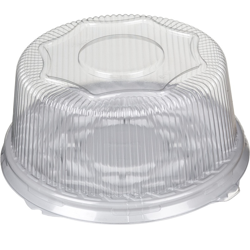 Пластиковая коробка для торта (внутренний диаметр 23см)