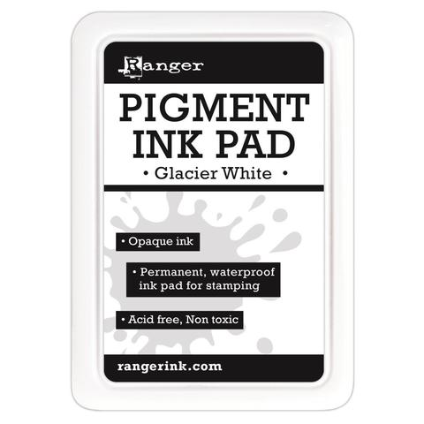 Пигментная подушечка RANGER PIGMENT INK PAD, GLACIER WHITE