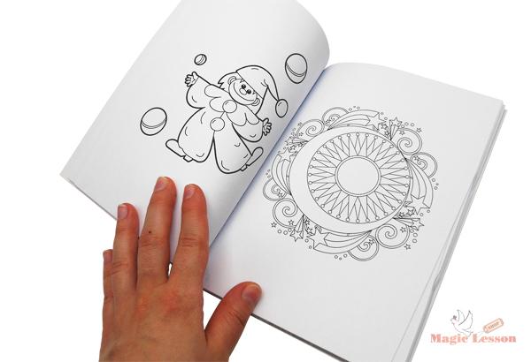 Фокус книжка - раскраска