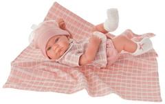 Munecas Antonio Juan Кукла-младенец Дафна в розовом, 42 см (5046P)