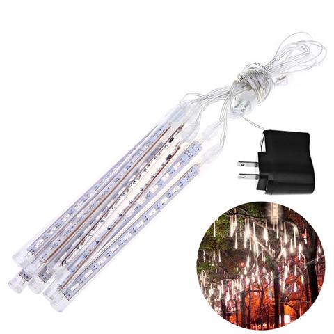 сосулька на дерево 30 см LED  тающая