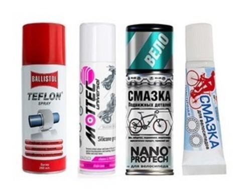 Купить велосипедные смазки