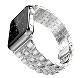 Металлический ремешок Metall Band 42мм\ 44мм для Apple Watch (Серебристый)