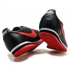 Мужские Nike Cortez New Collection All Black/Red