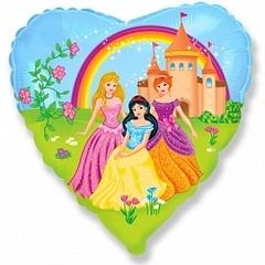Шар (18''/46 см) Замок принцессы / Princess Castle