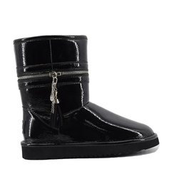 UGG Classic Short Jimmy Choo Zipper Black