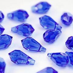 6000 Подвеска Сваровски Drop Majestic Blue (11х5,5 мм)