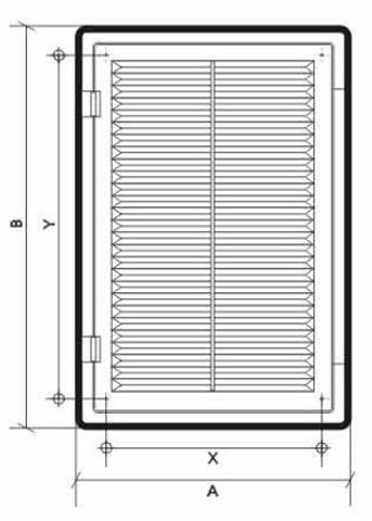 Решетка декофот 300х400 (30х40ДФ)
