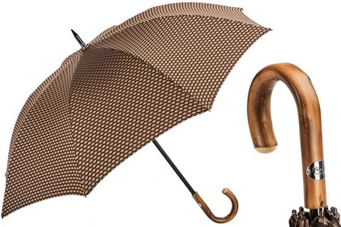 Зонт-трость Pasotti Jacquard Umbrella with Geometric Design, Италия