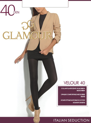 Колготки Glamour Velour 40