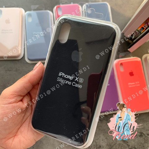 Чехол iPhone 6+/6S+ Silicone Case Full /black/ черный