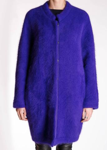 Пальто из ангоры ROBERTO CAVALLI