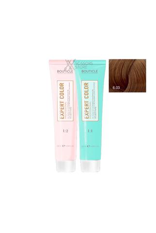 Expert Color Hair Color Cream 6/03 темно-русый натурально-золотистый 100 мл