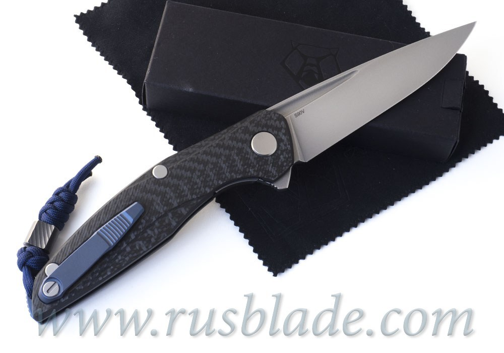 Shirogorov 111 S90V Blue Accent MRBS