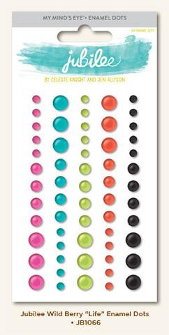 Эмалевые точки dots 60 шт