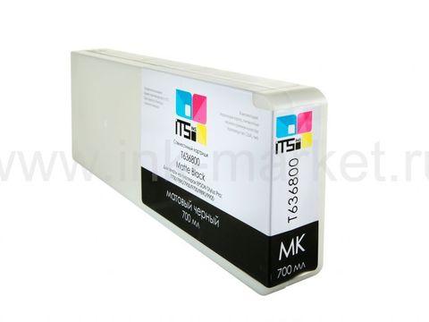 Совместимый картридж ITSinks для Epson Stylus Pro 7700/9700/7890/9890/9900 Matte Black 700 ml Pigment (C13T636800)
