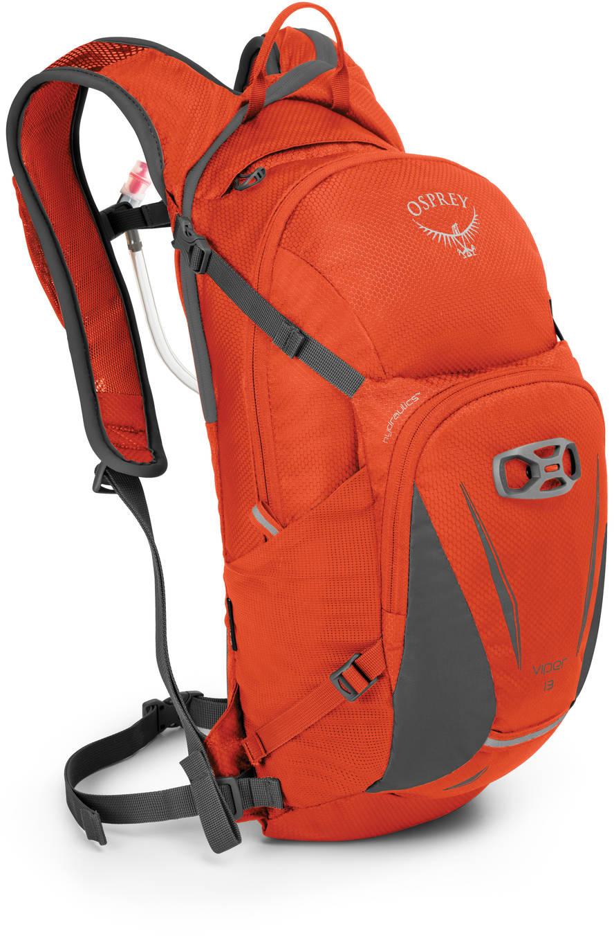 Велорюкзаки Велорюкзак с питьевой системой Osprey Viper 13 Viper_13_Side_Blaze_Orange_web.jpg