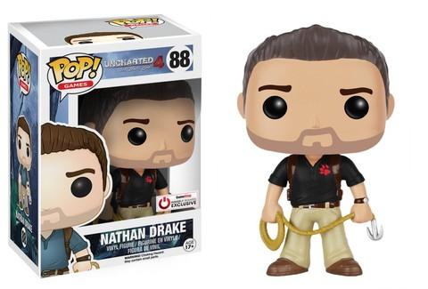 Фигурка Funko Pop! Games: Uncharted - Nathan Drake (Naughty Dog shirt) (exc. to GameStop)
