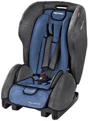 Детское кресло RECARO Young Expert plus (материал верха Trendline Bellini Shadow/Blue)