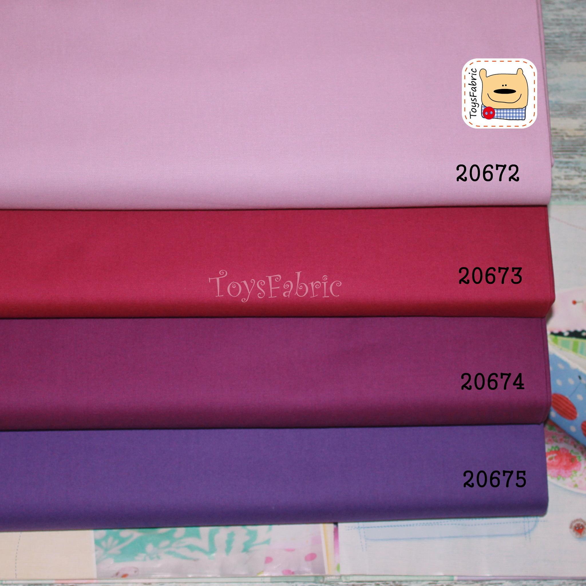 Ткань для пэчворка 20674 (однотонный пурпурный) 45х55см