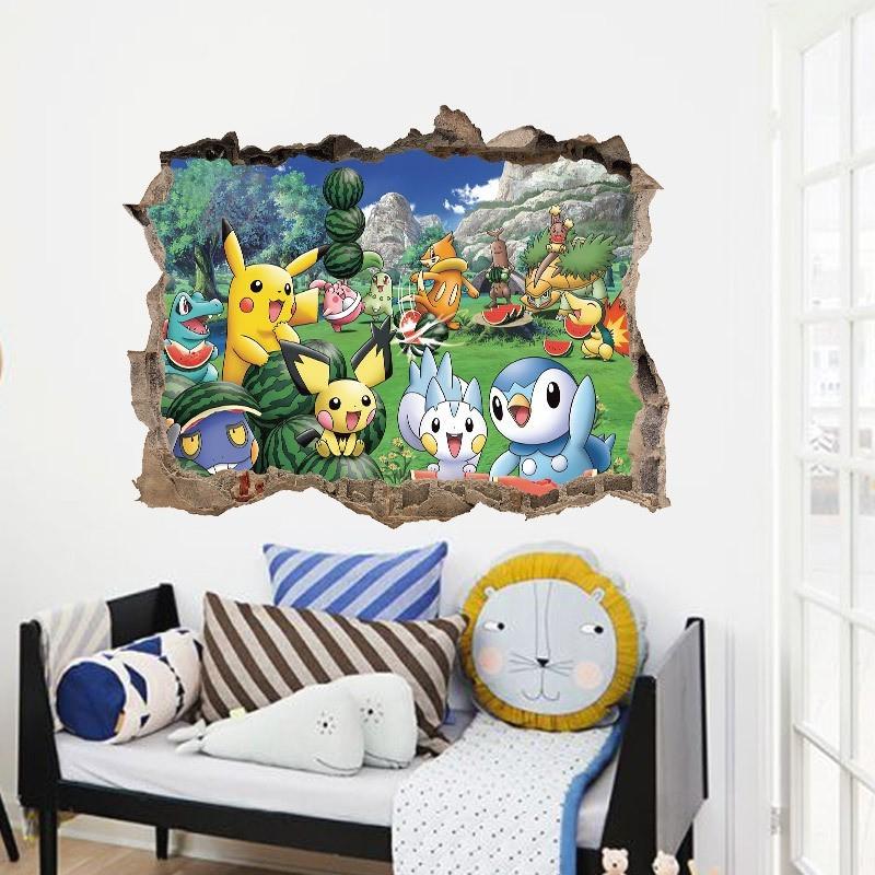 Наклейка на стену — Покемон №3