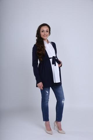 Блузка 01052 синий