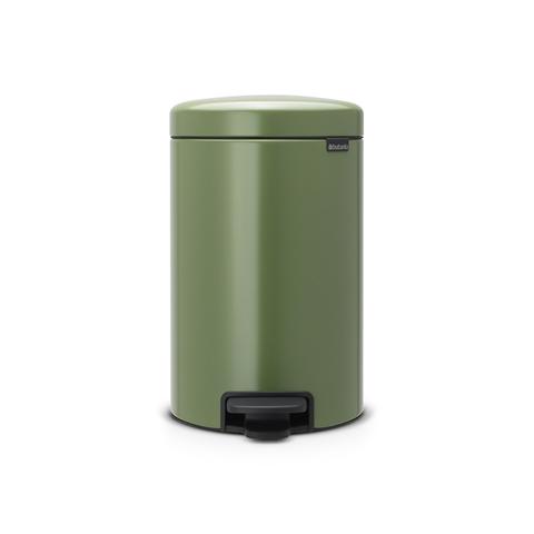 Мусорный бак newicon (12 л), Зеленый мох, арт. 113529 - фото 1